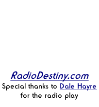 Three Songs Currently Playing On Relections 123 Internet radio from Clarksville Tn. Down Load player from RadioDestiny.com Special thanks to Dale Hayre for the radio play